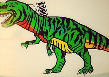 T-Rex。
