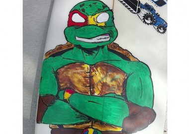 Teenage Mutant Ninja Turtles。