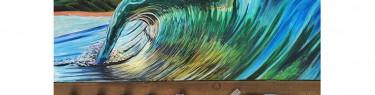 波の写真?