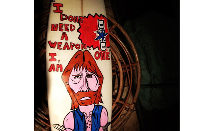I don't need a weapon。