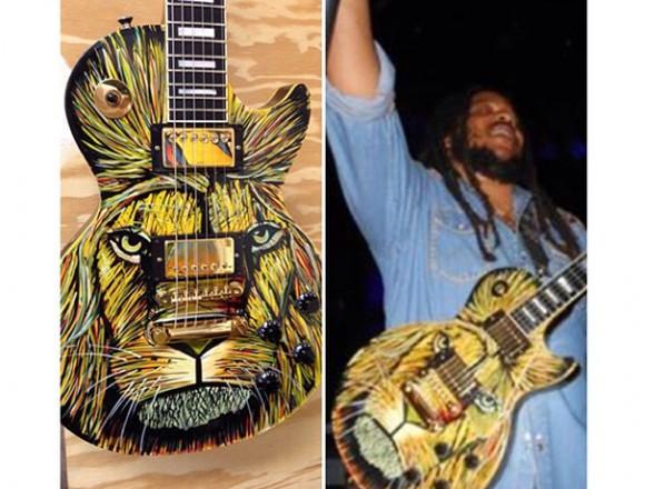 ギターにもボードスティックス。