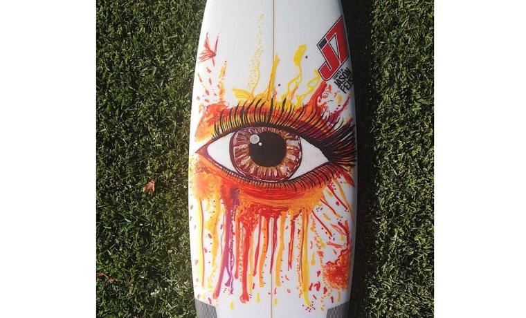 情熱の眼。