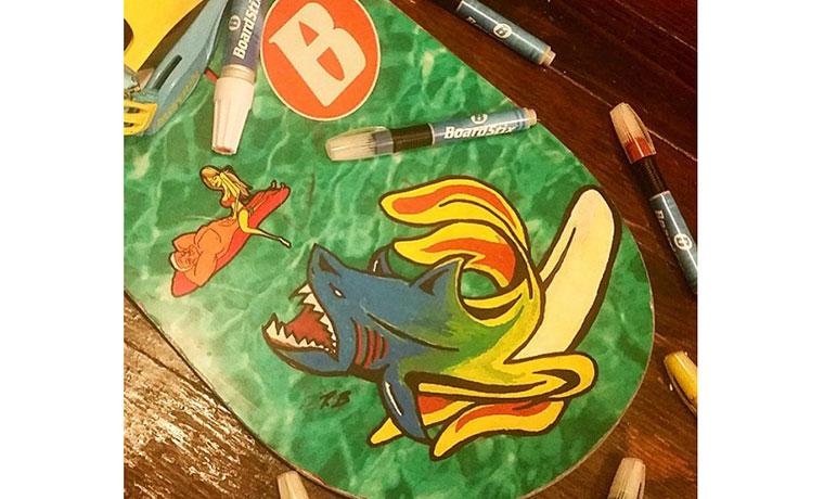 バナナからサメ!?