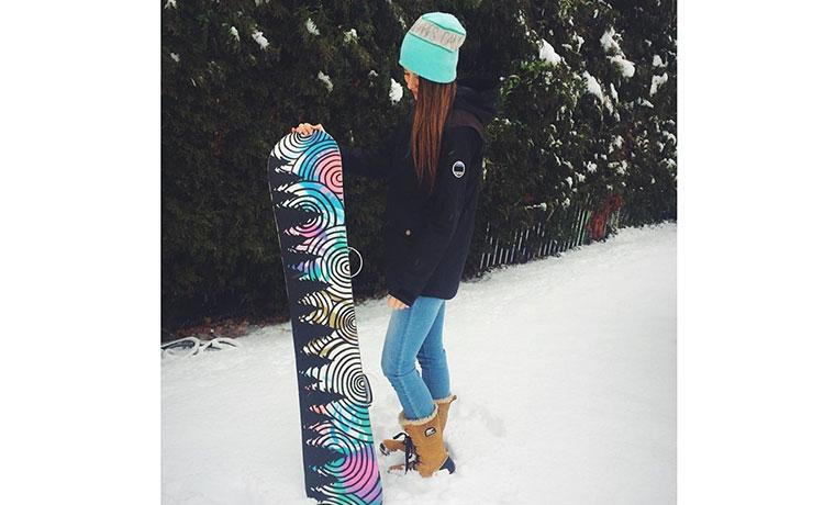 スノーボードシーズン到来です。