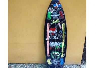 サーフボードがスケートボードに!