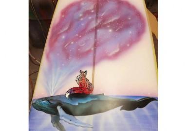 クジラに乗って。