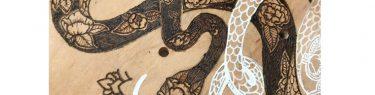 2匹のヘビ、その2。