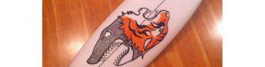 虎とサメ。